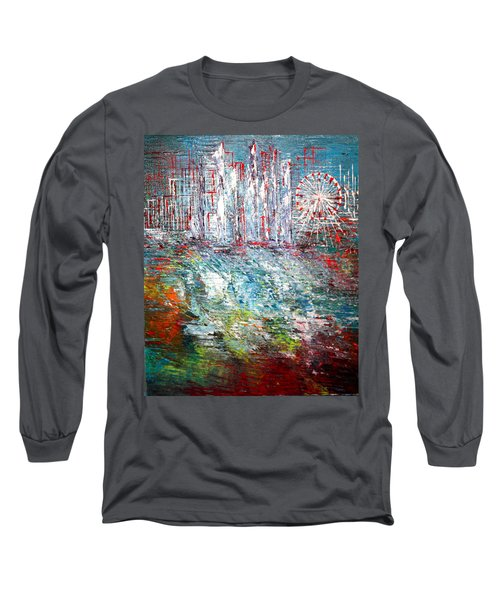 Gentle Breeze  Long Sleeve T-Shirt by George Riney