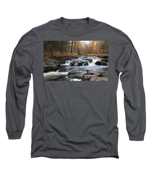Gently Falling Downstream  Long Sleeve T-Shirt