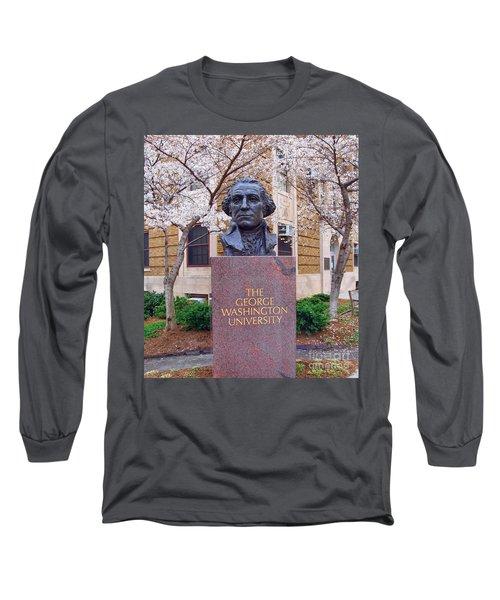 George Washington University Bust 1958 Long Sleeve T-Shirt