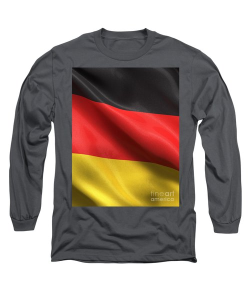 Long Sleeve T-Shirt featuring the photograph Germany Flag by Carsten Reisinger