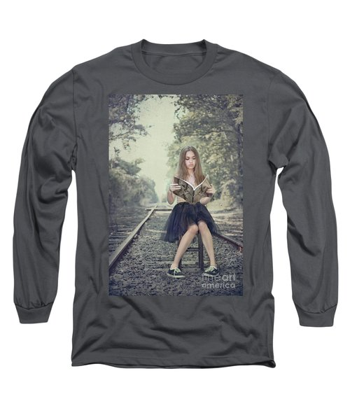 Get On The Right Track Long Sleeve T-Shirt
