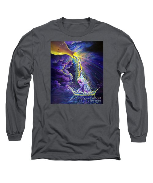 Get Ready Long Sleeve T-Shirt by Nancy Cupp