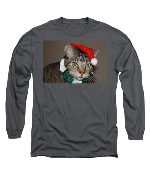 Get This Thing Off Of Me Long Sleeve T-Shirt by Catie Canetti