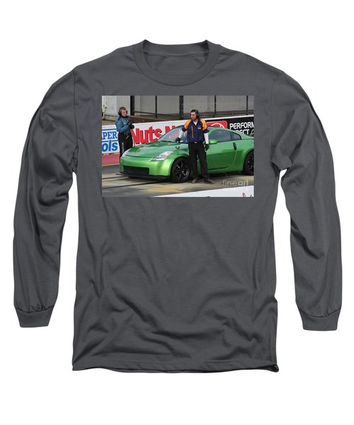 Getting Ready To Race Long Sleeve T-Shirt