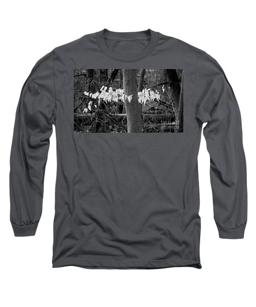 Ghost Leaves Long Sleeve T-Shirt