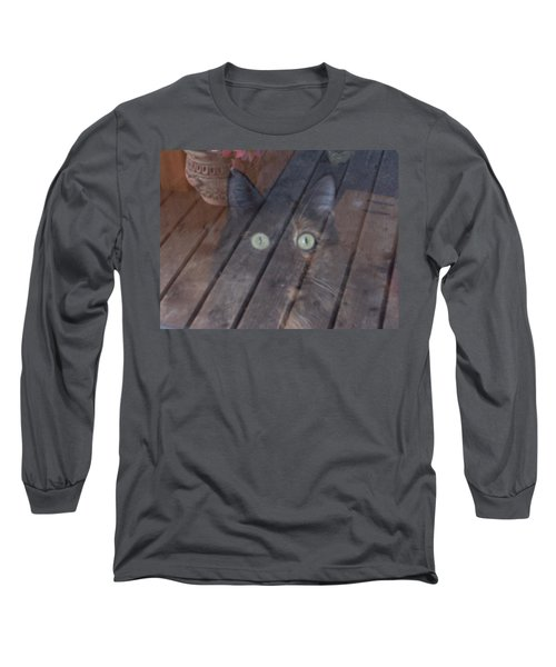 Ghostly Long Sleeve T-Shirt