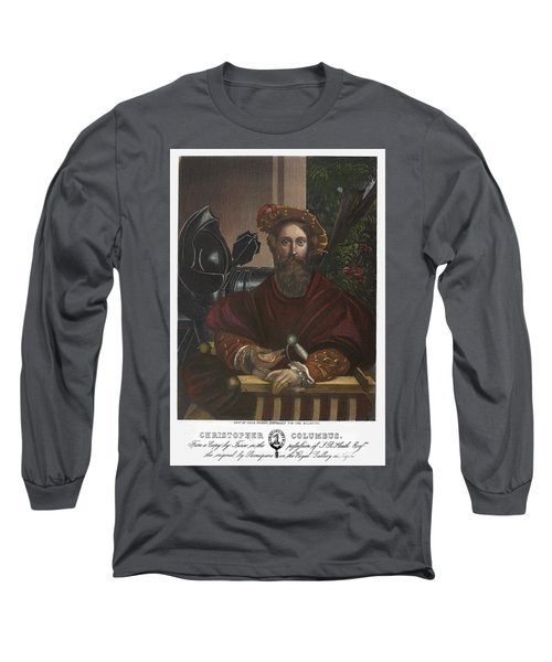 Gian Galeazzo Sanvitale Long Sleeve T-Shirt by Granger