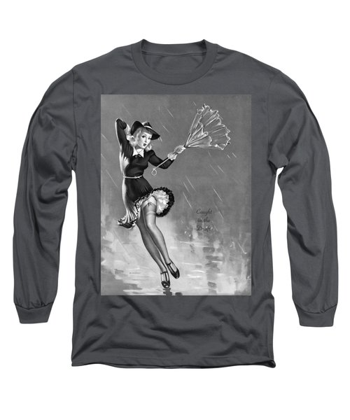 Gil Elvgren's Pin-up Girl Long Sleeve T-Shirt