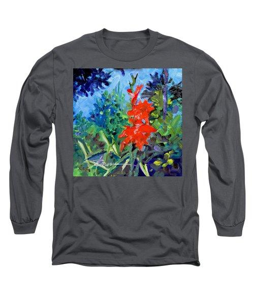 Gladiolus Long Sleeve T-Shirt