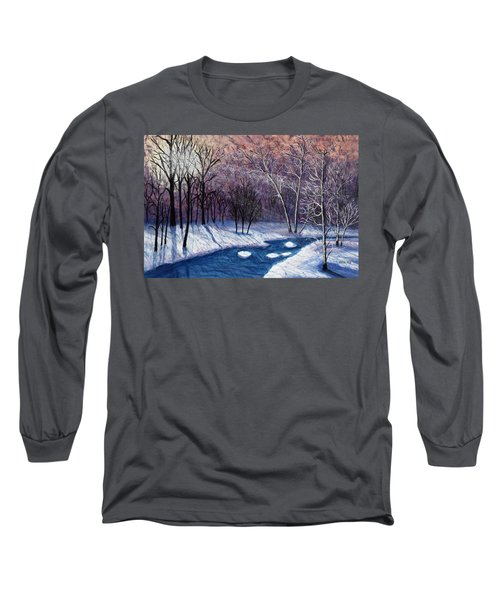 Glistening Branches Long Sleeve T-Shirt