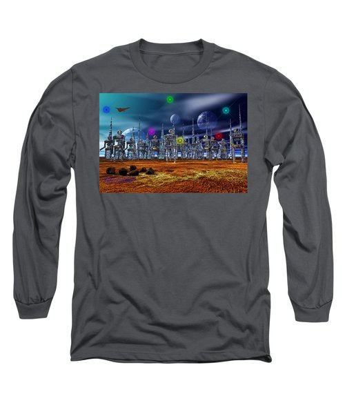 Gloeroxz Long Sleeve T-Shirt by Mark Blauhoefer