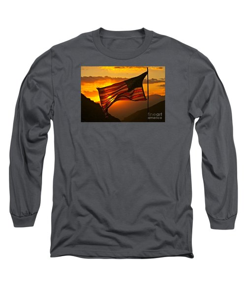 Glory At Sunset Long Sleeve T-Shirt