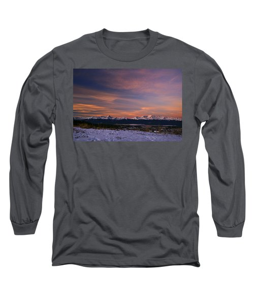 Glow Of Morning Long Sleeve T-Shirt by Jeremy Rhoades