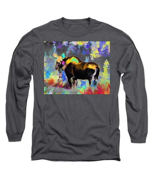 Electric Moose Long Sleeve T-Shirt