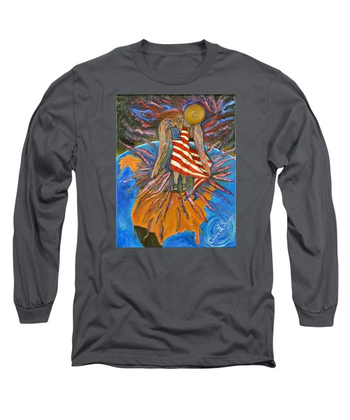 God Shed His Grace On Thee Long Sleeve T-Shirt by Cassie Sears