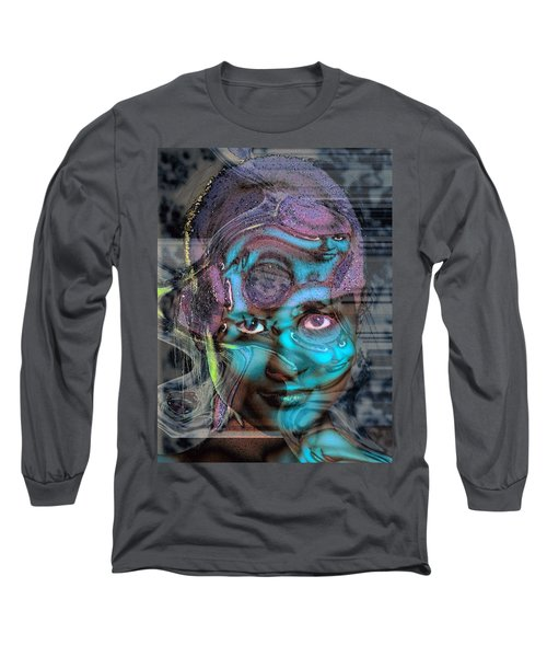 Long Sleeve T-Shirt featuring the photograph Goddess Of Love And Confusion by Richard Thomas