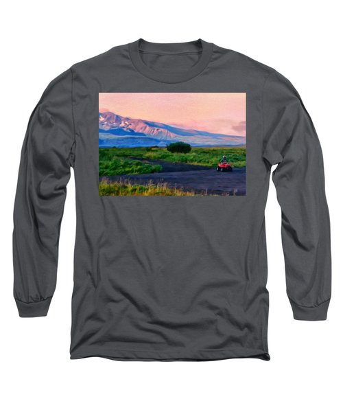 Going To School Cold Bay Style Long Sleeve T-Shirt