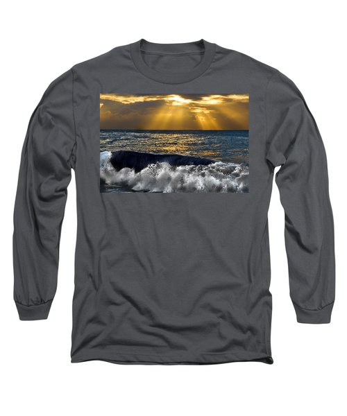 Golden Eye Of The Morning Long Sleeve T-Shirt