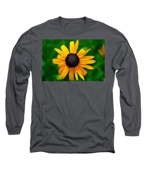 Long Sleeve T-Shirt featuring the photograph Golden Flower by Matt Harang