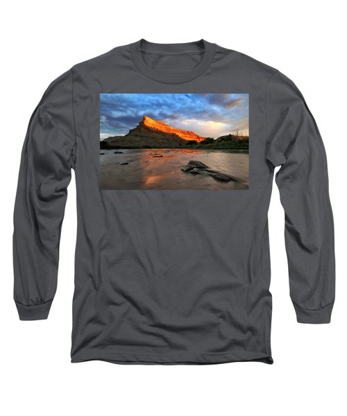 Long Sleeve T-Shirt featuring the photograph Golden Highlights by Ronda Kimbrow