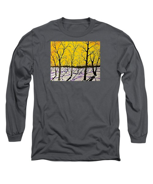 Golden Shadows Long Sleeve T-Shirt