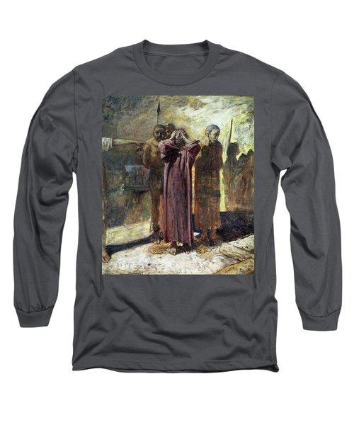 Golgotha, 1892-93 Oil On Canvas Long Sleeve T-Shirt