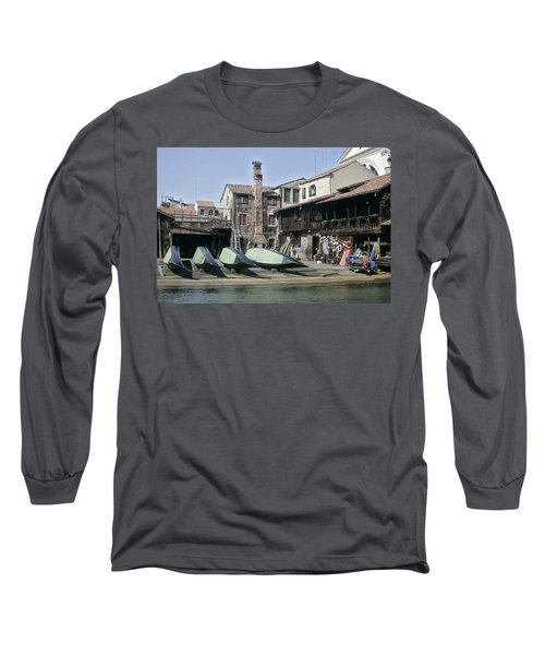 Gondola Showroom Long Sleeve T-Shirt