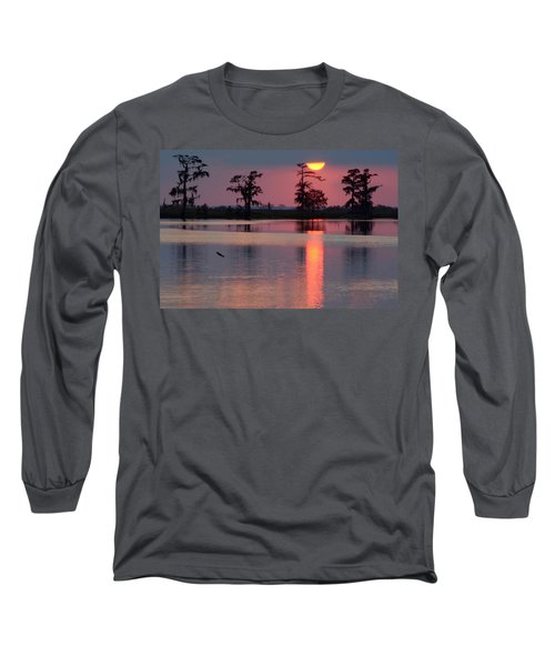 Long Sleeve T-Shirt featuring the photograph Gone Fishin by Charlotte Schafer