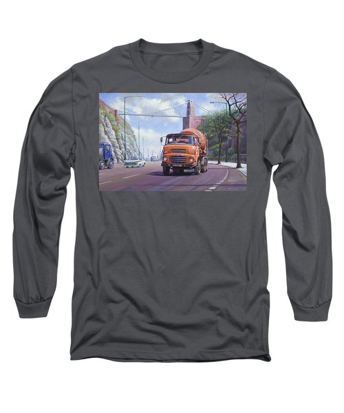 Good Mixer Long Sleeve T-Shirt by Mike  Jeffries
