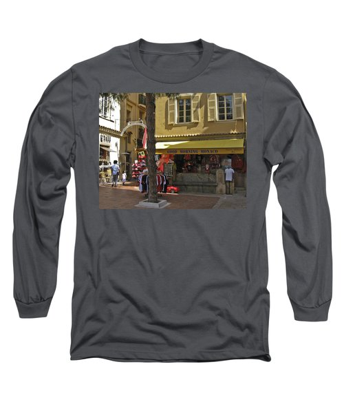 Long Sleeve T-Shirt featuring the photograph Good Morning Monaco by Allen Sheffield