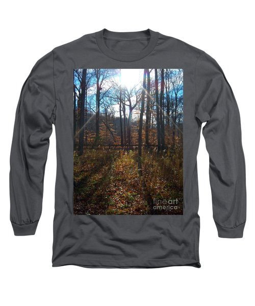 Good Morning Long Sleeve T-Shirt by Pamela Clements