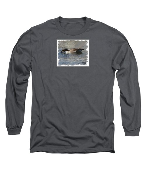 Goosey Lucy Painting Long Sleeve T-Shirt