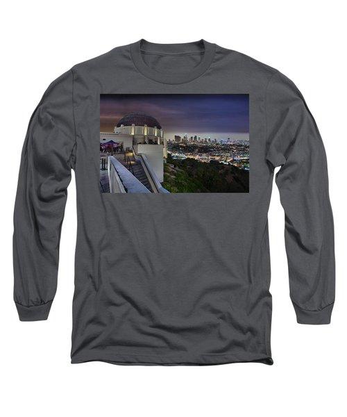 Gotham Griffith Observatory Long Sleeve T-Shirt