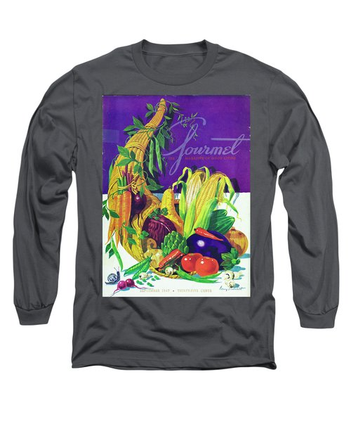 Gourmet Cover Of A Cornucopia Long Sleeve T-Shirt
