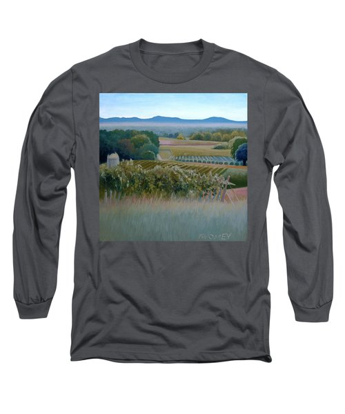 Grace Vineyards No. 1 Long Sleeve T-Shirt by Catherine Twomey