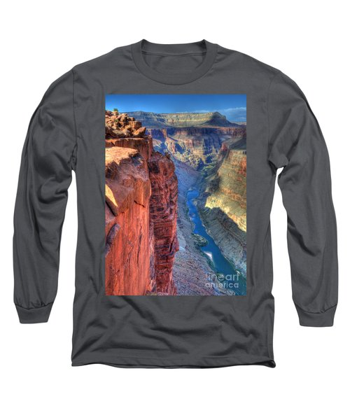 Grand Canyon Awe Inspiring Long Sleeve T-Shirt by Bob Christopher