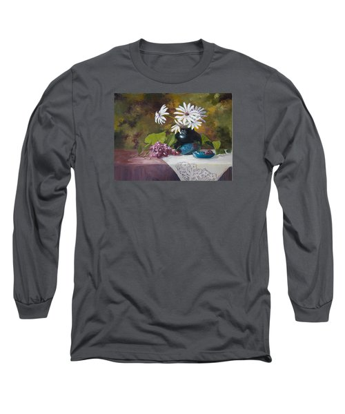 Grandma's Daisies Long Sleeve T-Shirt
