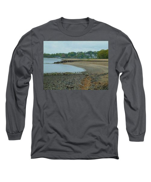 Granular Solitude Long Sleeve T-Shirt