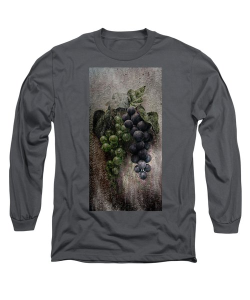 Long Sleeve T-Shirt featuring the photograph Off The Vine by Aaron Berg