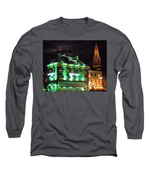 Grasshopper Bar Long Sleeve T-Shirt by Adam Romanowicz