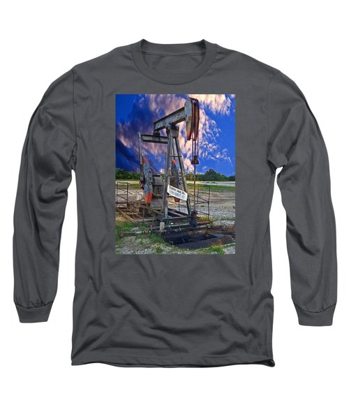 Long Sleeve T-Shirt featuring the photograph Grasshopper by Ella Kaye Dickey