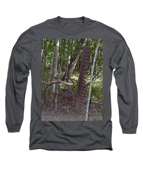 Grave Site Long Sleeve T-Shirt by Tara Lynn