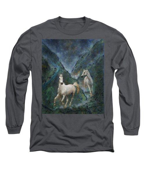 Green Canyon Run Long Sleeve T-Shirt