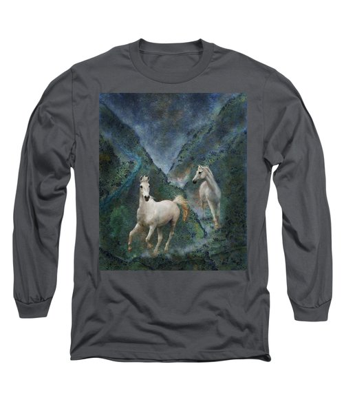 Green Canyon Run Long Sleeve T-Shirt
