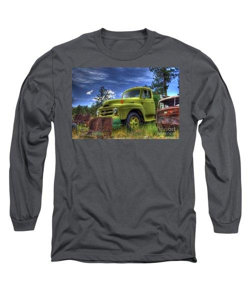 Green International Long Sleeve T-Shirt