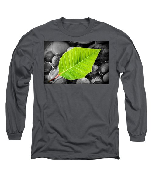 Green Leaf Long Sleeve T-Shirt