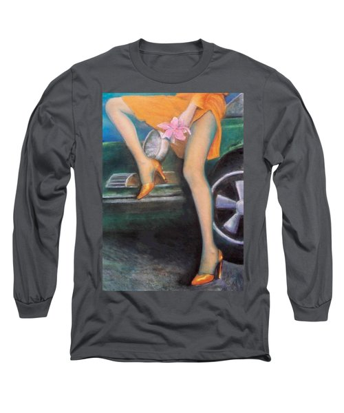Green Porsche Long Sleeve T-Shirt