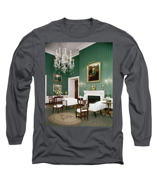 Green Room In The White House Long Sleeve T-Shirt
