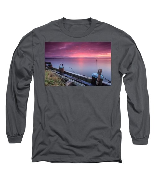 Long Sleeve T-Shirt featuring the photograph Greenbury Point Sunrise by Jennifer Casey