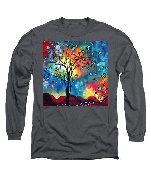 Greeting The Dawn By Madart Long Sleeve T-Shirt